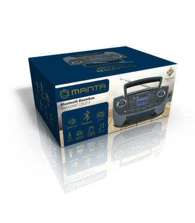 Manta Boombox z Bluetooth DROPII Premium MM9208BT
