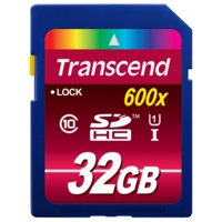 Transcend SDHC 32GB CL10 U1 ULTIMATE