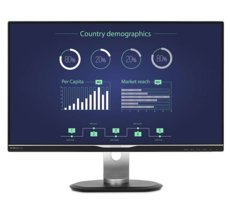 "Philips 25"" 258B6QUEB IPS DP DVI HDMI USB-C"