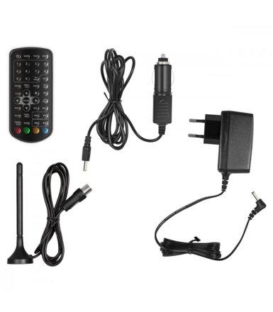 Sencor 9' Przenośny telewizor z DVD, SPV 7925T DVD, Tuner DVB-T MPEG4