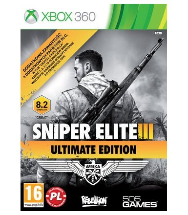 Techland Sniper Elite III Ultimate Edition Xbox 360 PL