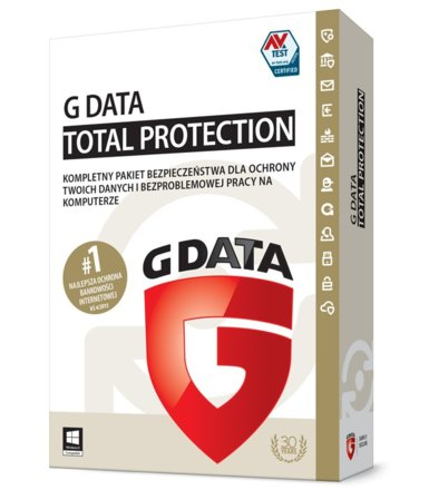 G DATA TotalProtection 2015 2PC 2 Lata BOX