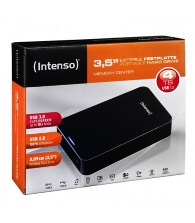 Intenso 4TB 3,5'' HDD USB 3.0 MEMORYCENTER Black