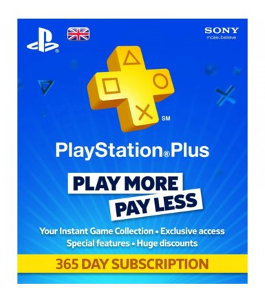 Sony PlayStation Plus Card 365 Days 9261537