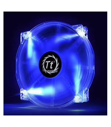 Thermaltake Wentylator - Pure 20 LED Blue (200mm, 800 RPM) BOX