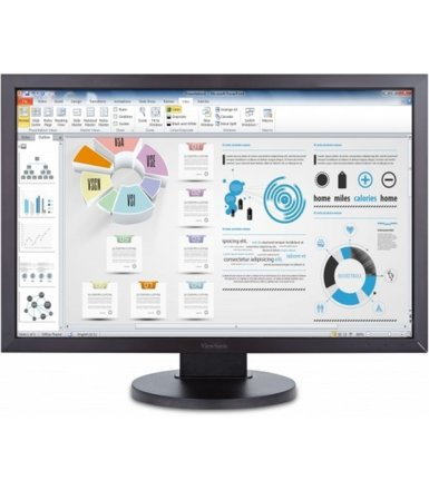 ViewSonic 24'' VG2435SM Monitor LCD 16:10/LED/DVI-D/5ms/2x2W