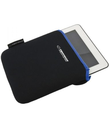 Esperanza ETUI NA TABLET 10 CALI BLACK/BLUE