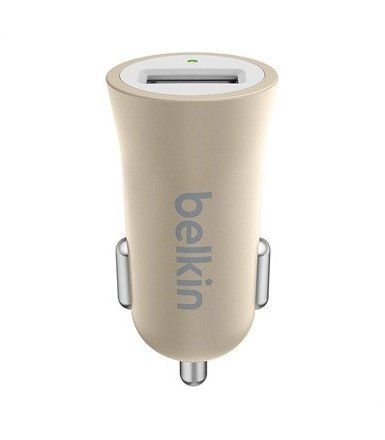 Belkin Metalic Car Charger Gold