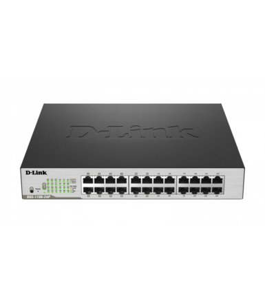 D-Link DGS-1100-24P Easy Smart Switch 10/100/1000Mbps PoE