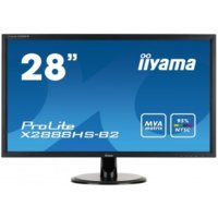 IIYAMA 28''X2888HS-B2 MVA,FLICKERFREE,SPEAKERS                 1920X1080,178/178