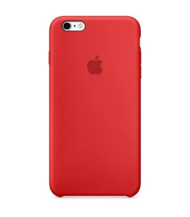 Apple iPhone 6s Plus Silicone Case (PRODUCT)RED   MKXM2ZM/A