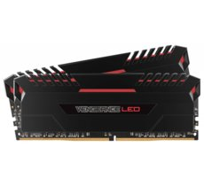 Corsair DDR4 Vengeance LED 16GB/2666(2*8GB) CL16-18-18-36 RED