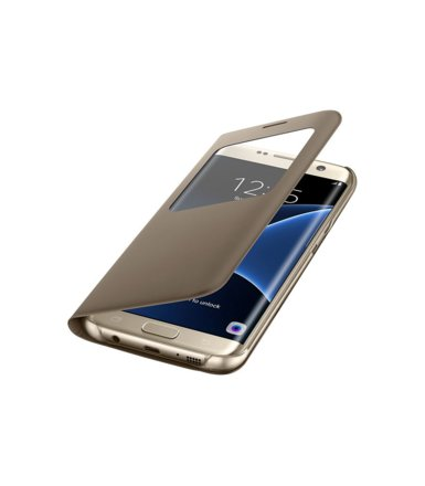 Samsung S View Cover Galaxy S7 Edge Gold