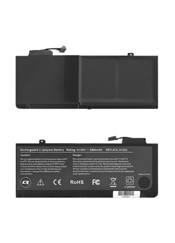 "Qoltec Bateria do Apple MacBook Pro 13"", 5800mAh, 10.95V"