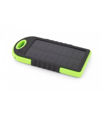 Esperanza SOLAR POWER BANK SUN 5200mAh ZIELONY