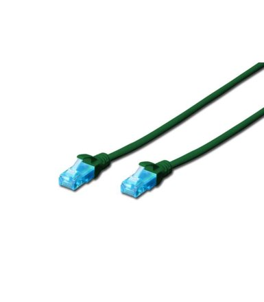 Digitus Patch cord U/UTP kat.5e PVC 3m zielony