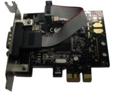 Unitek Kontroler PCI-E 1xRS232 ,LOW PROF. Y-7502