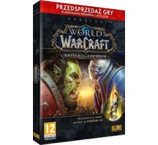 Blizzard Gra PC WOW Battle for Azeroth PRE-PURCHASE