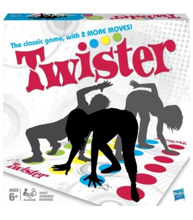 Hasbro Gra Twister Refresh