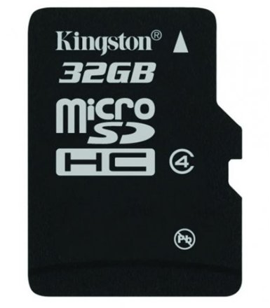 Kingston microSD 32GB bez Adaptera SDC4/32GBSP