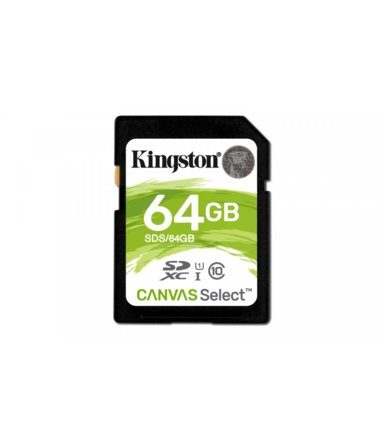 Kingston SD  64GB Canvas Select 80/10MB/s
