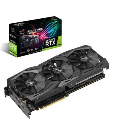 Asus Karta graficzna GeForce RTX 2070 ROG STRIX OC 8GB GDDR6 256BIT HDMI/DP/USB-c