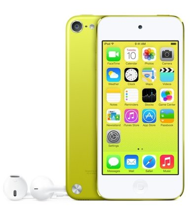 Apple iPOD TOUCH 16GB YELLOW MGG12RP/A