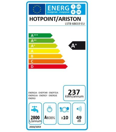 Hotpoint-Ariston Zmywarka LSTB 6B019 EU