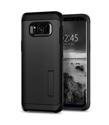 SPIGEN SGP  Tough Armor Black Etui Galaxy S8