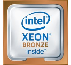 Intel Xeon bronze 3104, 6C, 1.7 GHz, 8.25M cache, DDR4 up to 2133 Mhz, 85W TDP