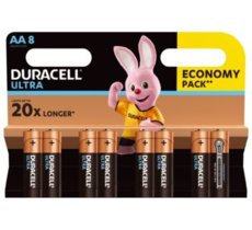 Duracell Baterie Ultra Power AA 8-pack