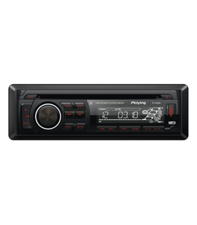 Peiying Radio samochodowe model PY6688 , MP3 , USB, CD