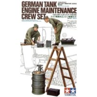German Tank Maintenance Crew