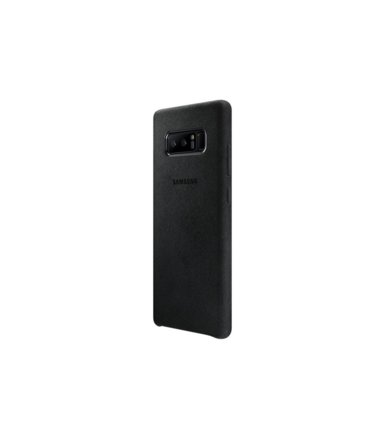 Samsung Alcantara Cover Black do Note 8