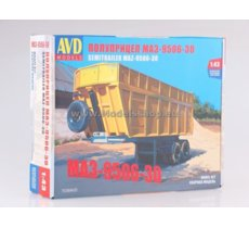 MAZ-9506-30 Dumper Semitrailer model kit
