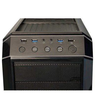 Chieftec GP-01B-OP Midi Tower Black Seria Gaming