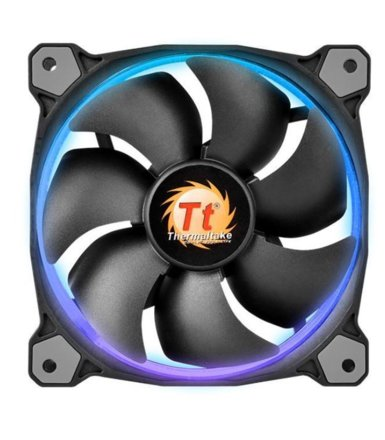 Thermaltake Wentylator Riing 12 LED RGB 256 color 3 Pack (3x120mm, LNC, 1500 RPM) Retail/BOX