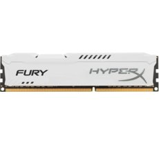 HyperX DDR3 Fury  4GB/ 1600 CL10 WHITE