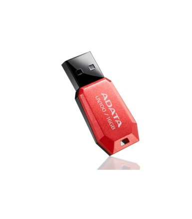Adata DashDrive UV100 16GB USB2.0 czerwony - mini