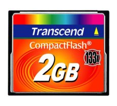 Transcend Compact Flash Card 2GB (133X)