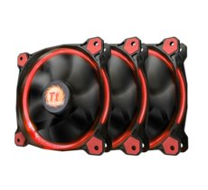 Thermaltake Riing 12 LED Red 3 Pack (3x120mm, LNC, 1500 RPM) Retail/Box