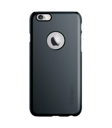 SPIGEN SGP  Etui Ultra Fit A Metal Slate iPhone 6