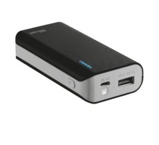 Trust UrbanRevolt Primo PowerBank 4400 Portable Charger - black