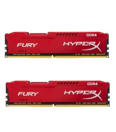 HyperX DDR4 Fury Red 32GB/2666(2*16GB) CL16