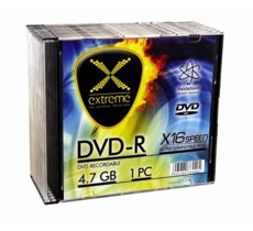 Extreme DVD-R 4,7 GB x16 - Slim 10