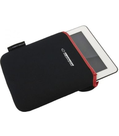 Esperanza ETUI NA TABLET 10 CALI BLACK/RED