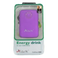 Lark Power Bank 8400 fioletowy