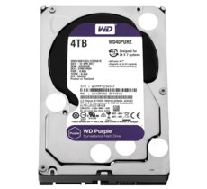 Western Digital Purple 4TB 3,5'' 64MB  SATAIII/5400rpm