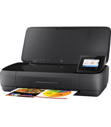 HP Inc. Officejet 252 AiO Printer N4L16C