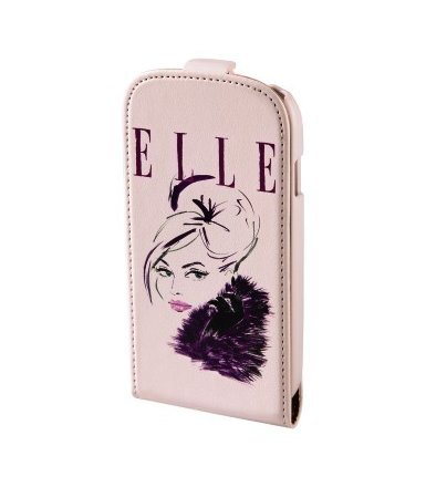 Hama ELLE FLAP CASE SAMSUNG GALAXY S4 LADY IN PINK